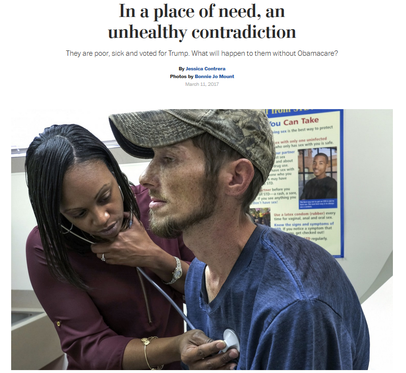 Washington Post: In Place of Need, an Unhealthy Contradiction