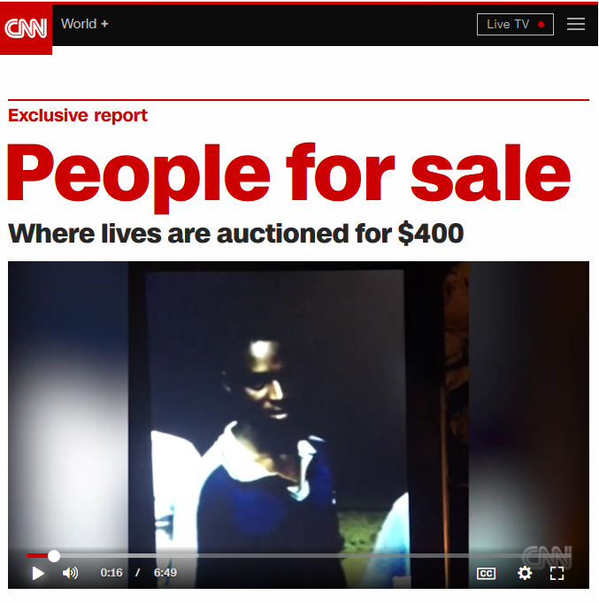 CNN: People for Sale