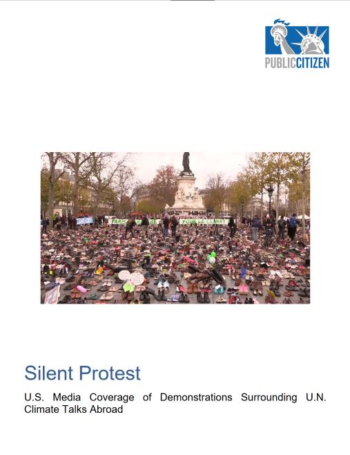 Public Citizen: Silent Protest