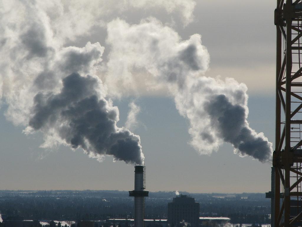 Smokestacks (cc photo: Bill Burris)