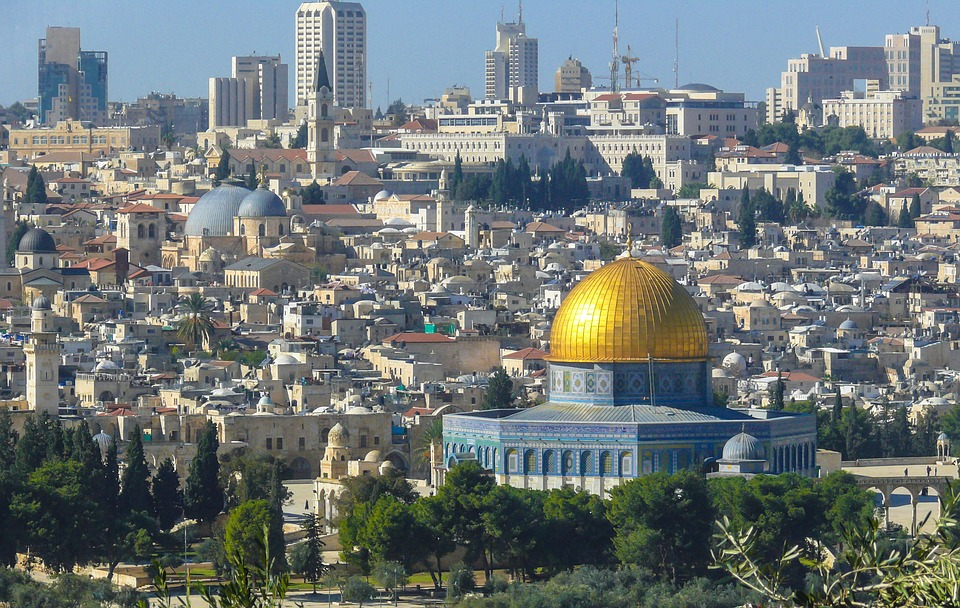 Jerusalem with Dome of the Rock