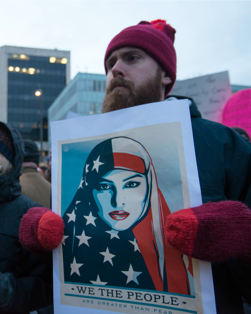 Muslim Ban Protest (cc photo: Fibonacci Blue)
