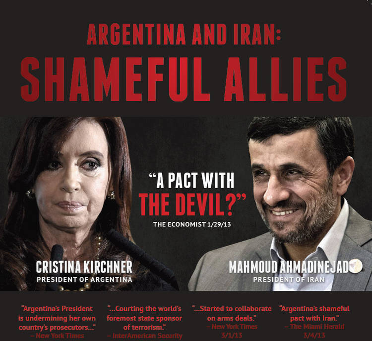 ATFA: Argentina and Iran: Shameful Allies