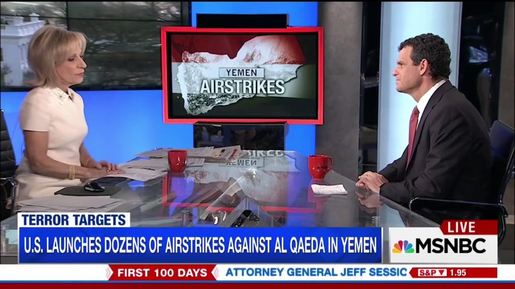 MSNBC: US Launches Dozens of Airstrikes Against Al Qaeda Targets in Yemen