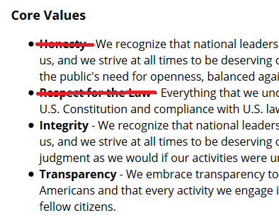 Deleted words from NSA website (image: FAIR)