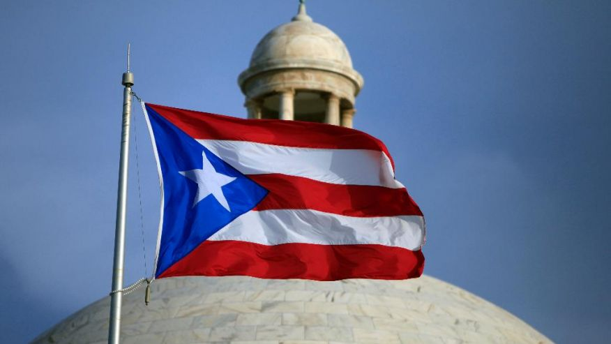 Puerto Rican flag (photo: Hedge Clippers)