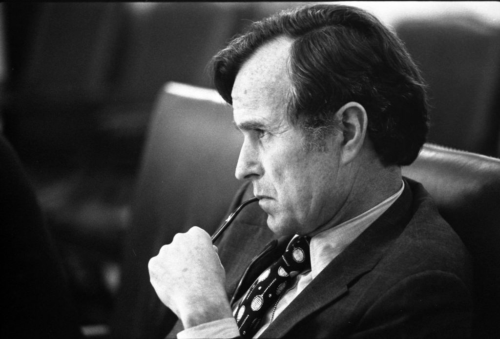 CIA Director (and future president) George H.W. Bush