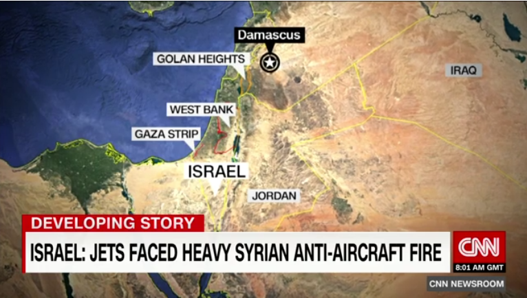 CNN: Israel: Jets Faced Heavy Syrian Anti-Aircraft Fire