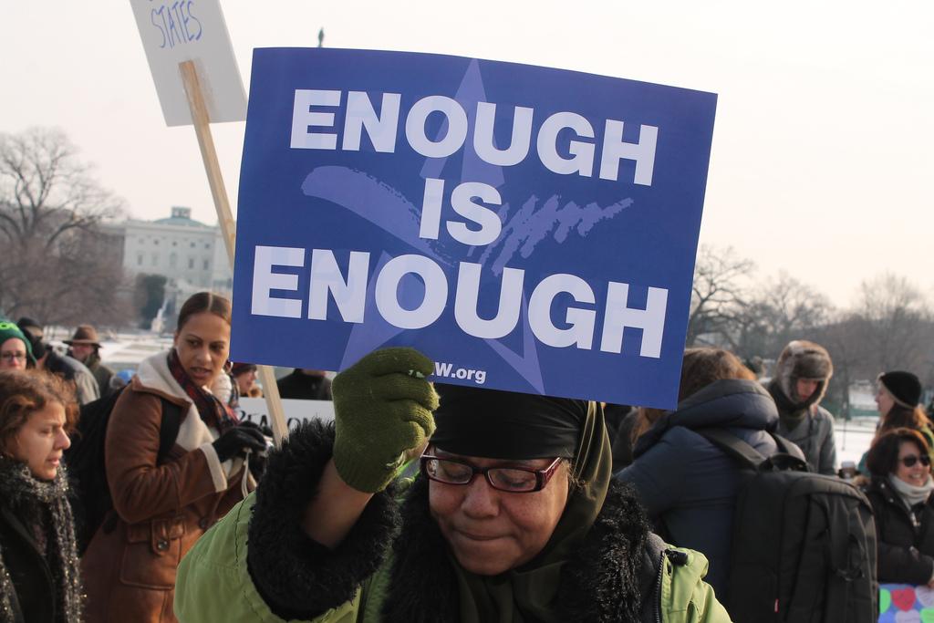 Enough Is Enough (cc photo: Elvert Barnes)