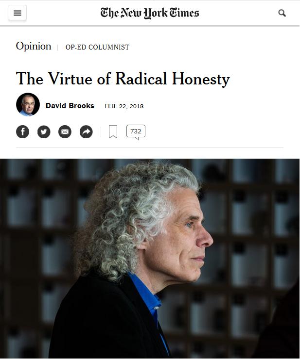 NYT: The Virtue of Radical Honesty
