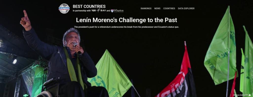 US News: Lenín Moreno's Challenge to the Past