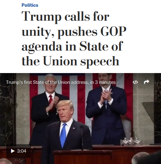 Media's State Of The Union: Normalizing Lies And Hoping