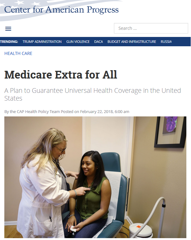 CAP: Medicare Extra for All