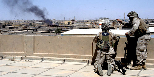 US Marines in Fallujah, April 2004 (photo: Matthew J. Apprendi/USMC)
