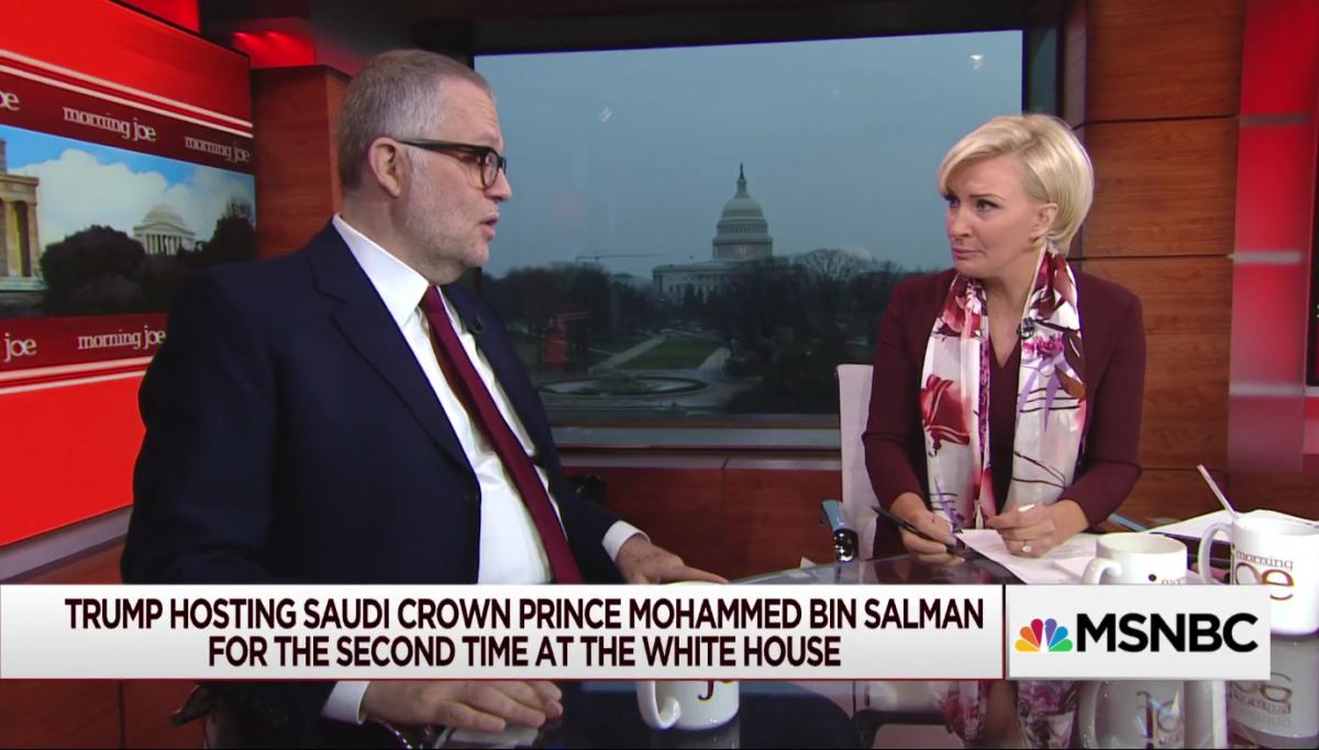Ali Shihabi interviewed on MSNBC