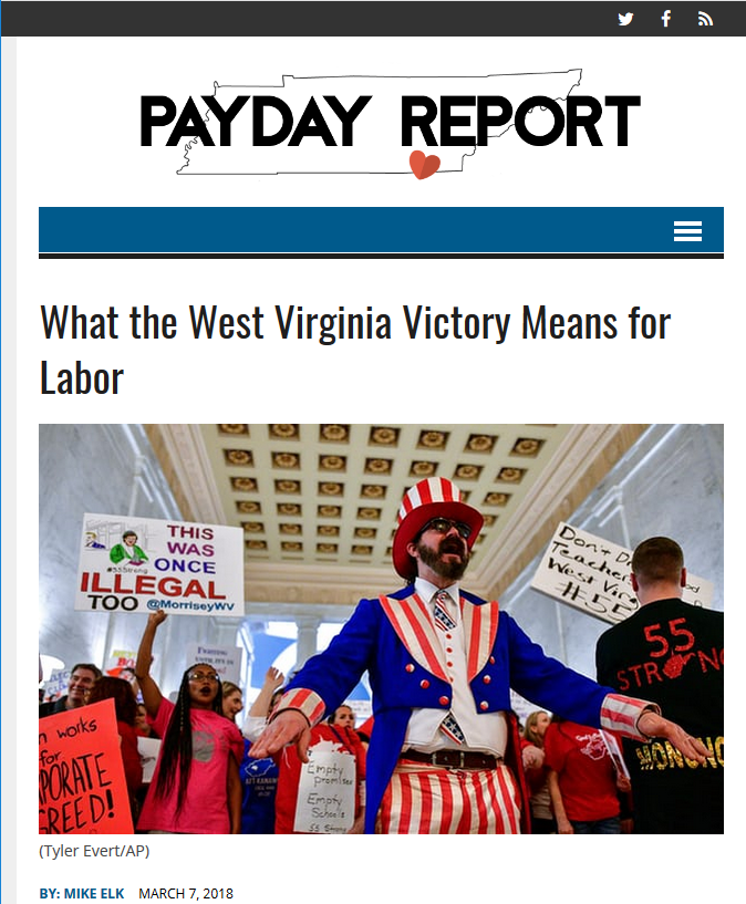 Payday Report: What the West Virginia Victory Means for Labor
