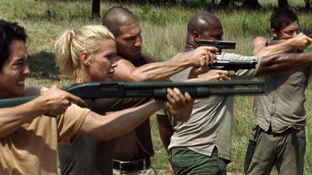 Guns on The Walking Dead