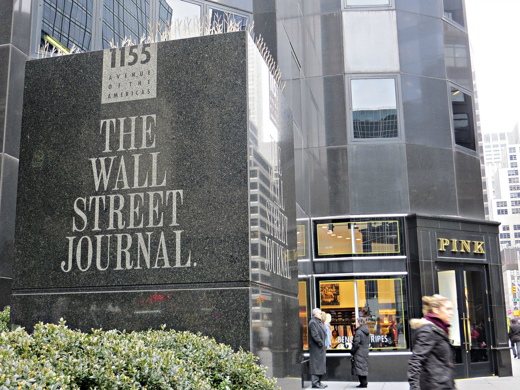 Wall Street Journal offices (cc photo: John Wisniewski)
