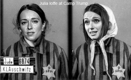 Auschwitz-themed hate mail aimed at journalist Julia Joffe