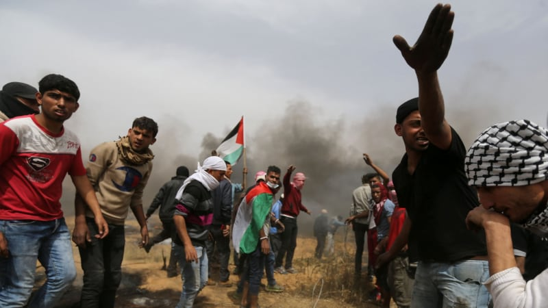 As Israel Kills Dozens and Maims Thousands, Palestinian 'Violence' Under Media Microscope