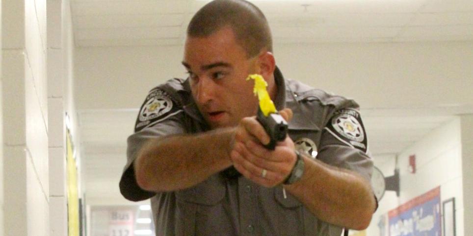 Police training exercise