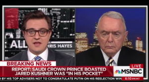 Chris Hayes interviewing Gen. Barry McCaffrey on MSNBC