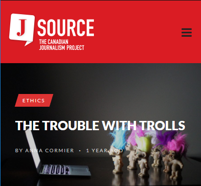 J Source: The Trouble With Trolls