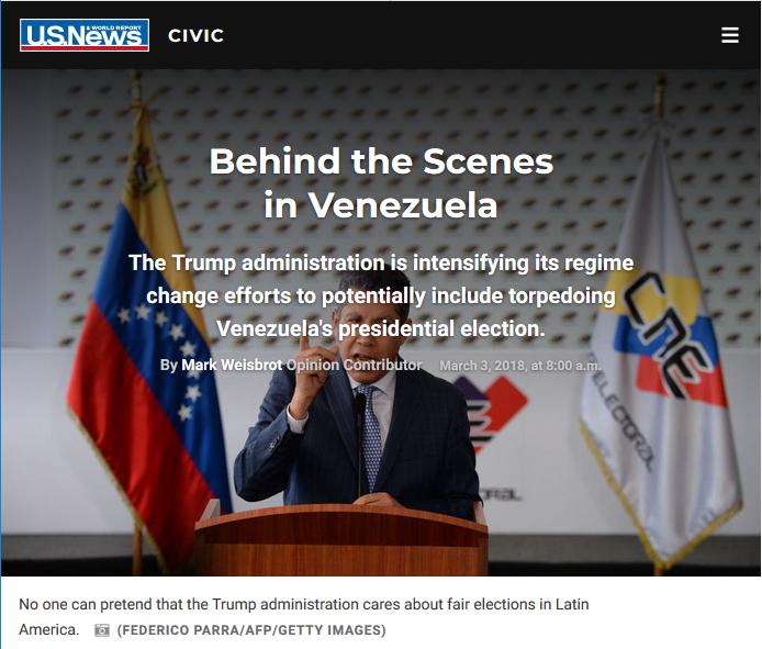 US News: Behind the Scenes in Venezuela