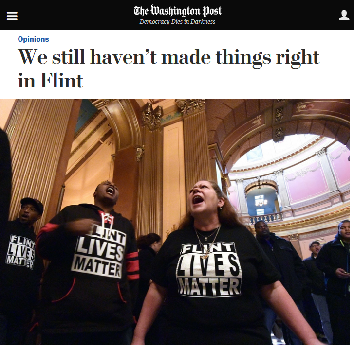 Washington Post: We Still Haven't Made Things Right in Flint