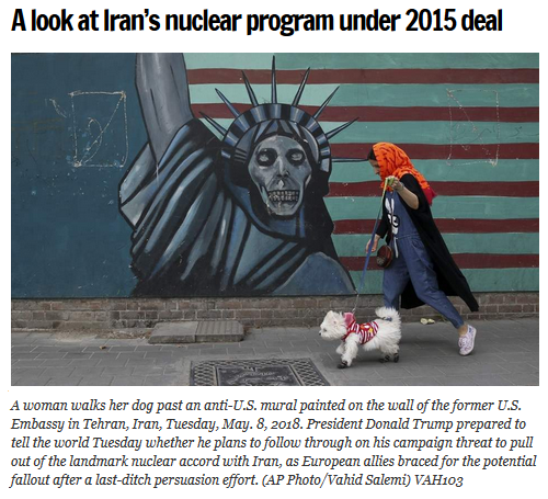 AP: A Look at Iran's Nuclear Program Under 2015 Deal