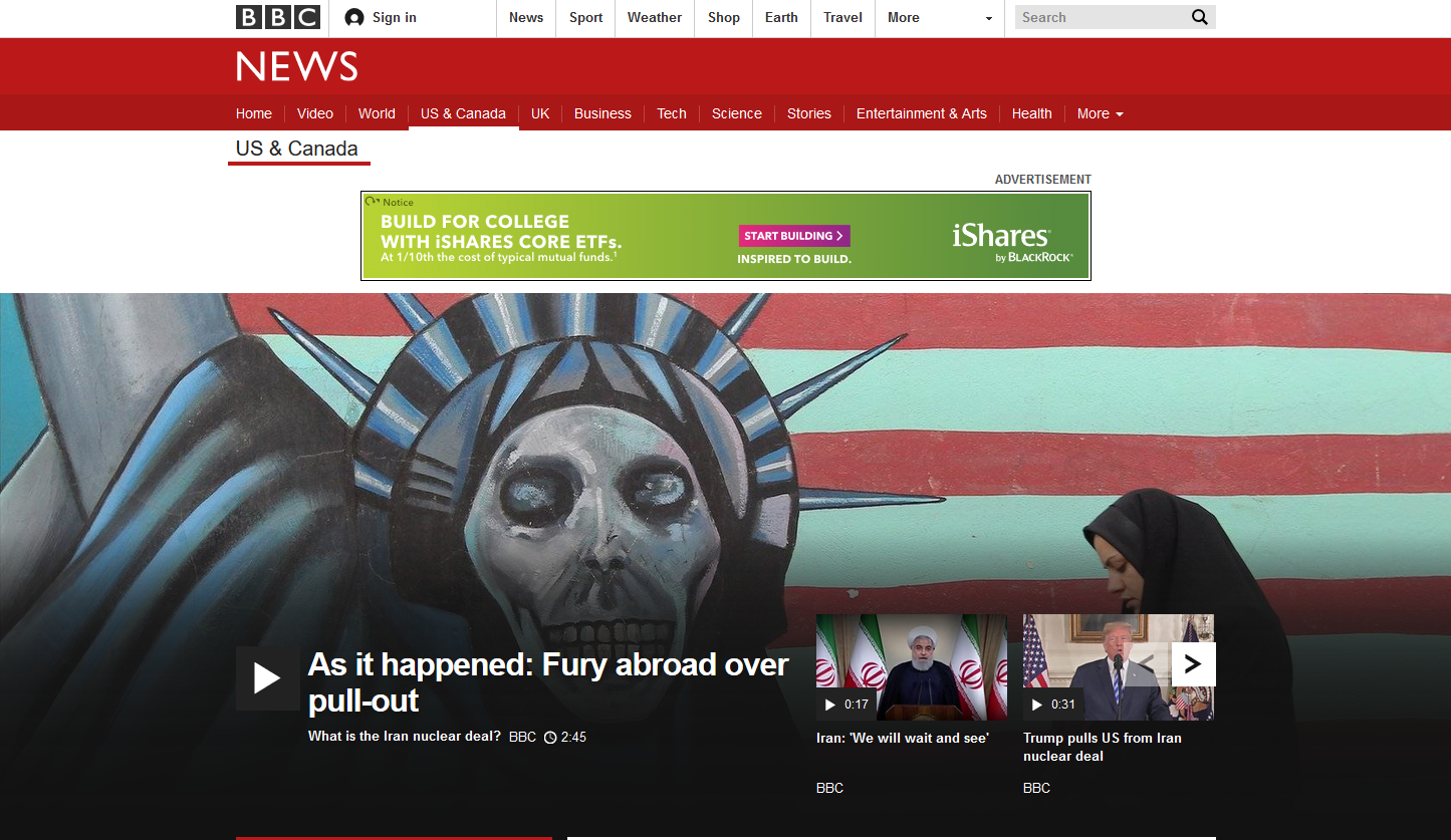 BBC: Fury Abroad Over Pull-Out