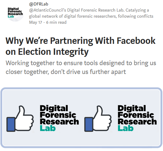 Medium: Why We're Partnering With Facebook on Election Integrity