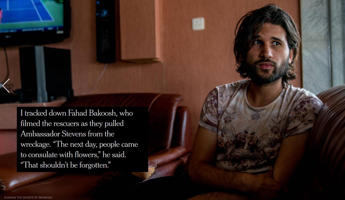 NYT: Fahad Bakoosh
