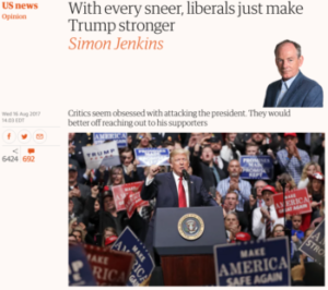 Guardian: With Every Sneer, Liberals Just Make Trump Stronger