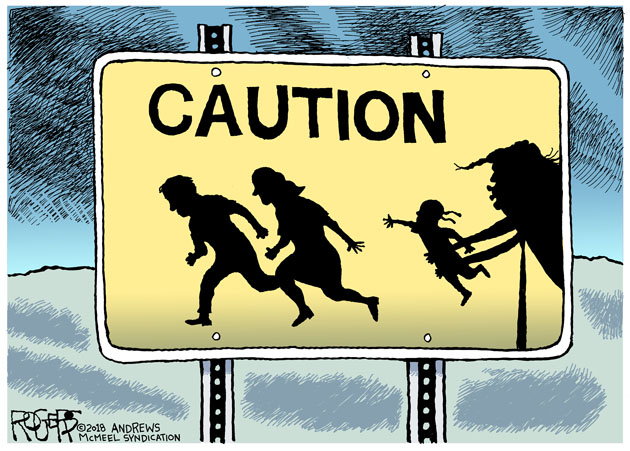 Rob Rogers: Immigrant Children