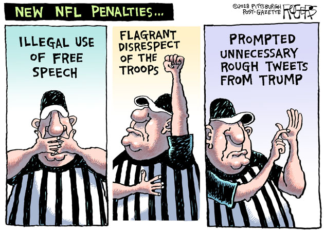 Rob Rogers: New NFL Penalties