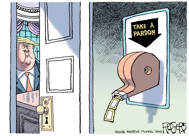 Rob Rogers: Take a Pardon