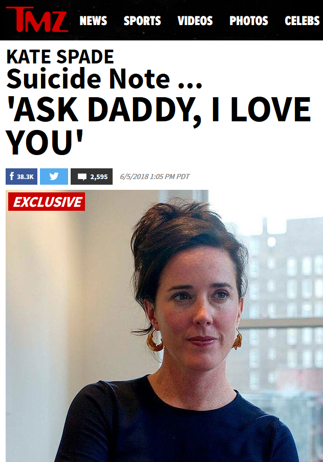 TMZ: 'Ask Daddy, I Love You'