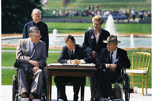 ADA Signing (photo: White House)