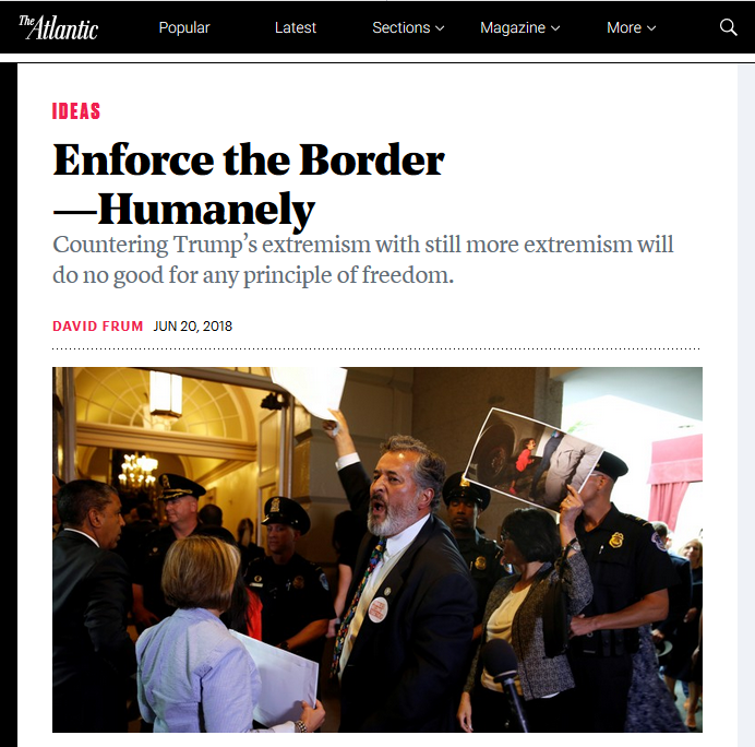 Atlantic: Enforce the Border--Humanely