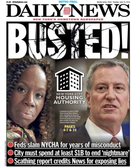 Daily News: Busted!
