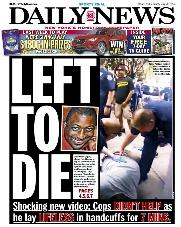 Daily News: Left to Die