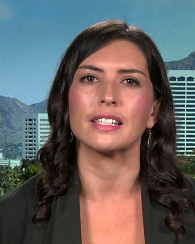 Jacinta Gonzalez (image: Democracy Now!)