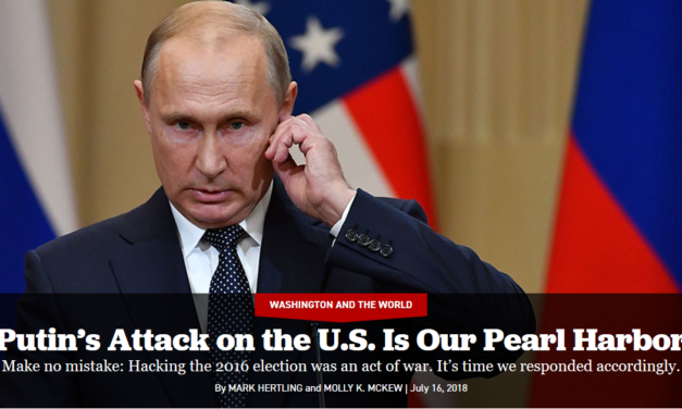 Email Hacking Was 'Pearl Harbor,' Helsinki Presidency's 'New Low': Welcome to the United States of Amnesia