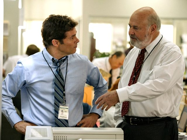 James Marden and Rob Reiner in Shock and Awe