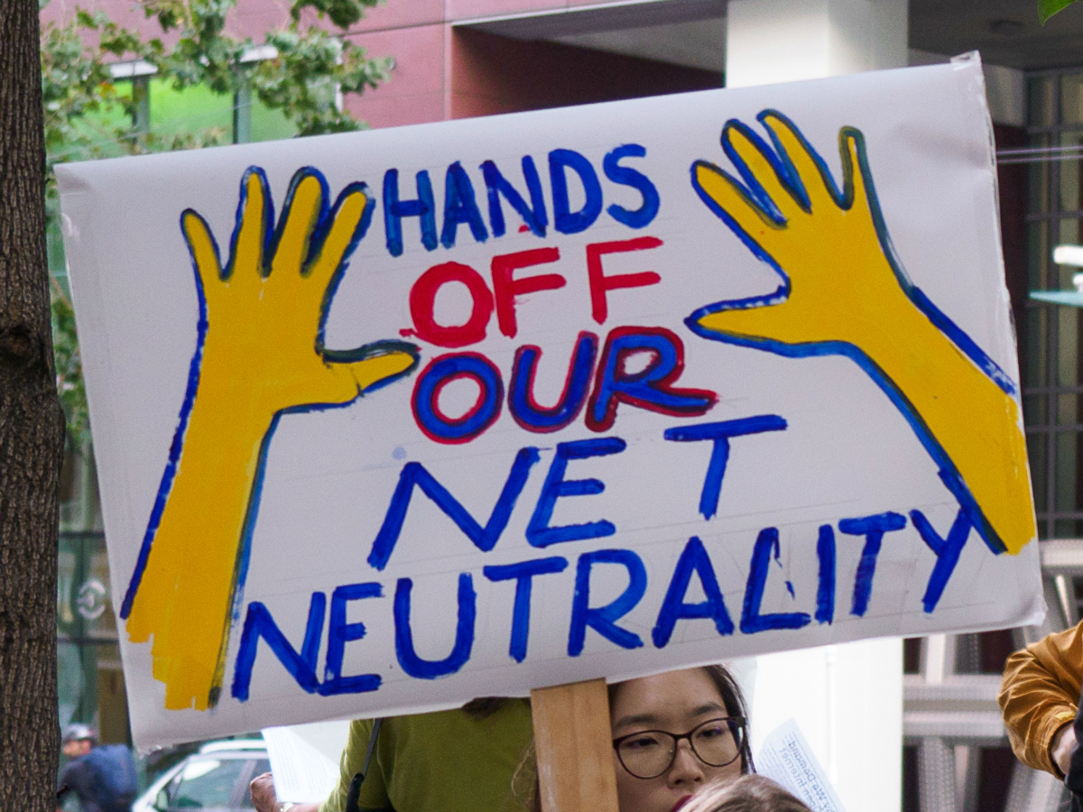 Hands Off Our Net Neutrality