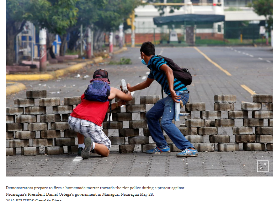 Distorting Past and Present: Reuters on Nicaragua's Armed Uprising