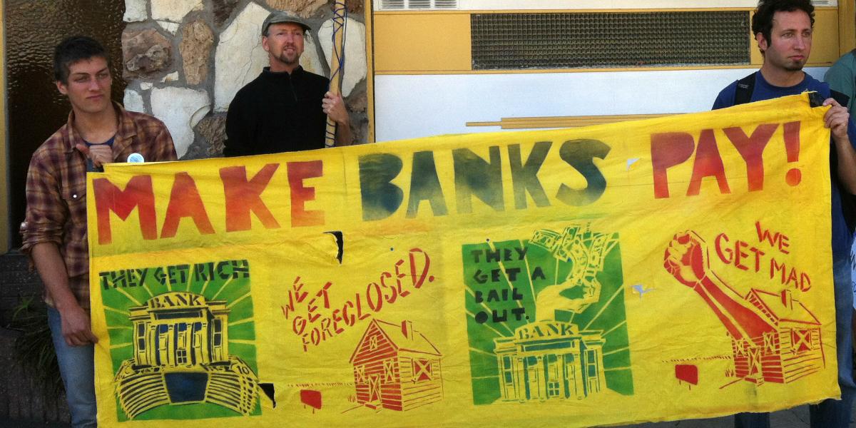 Make Banks Pay: Occupy SF