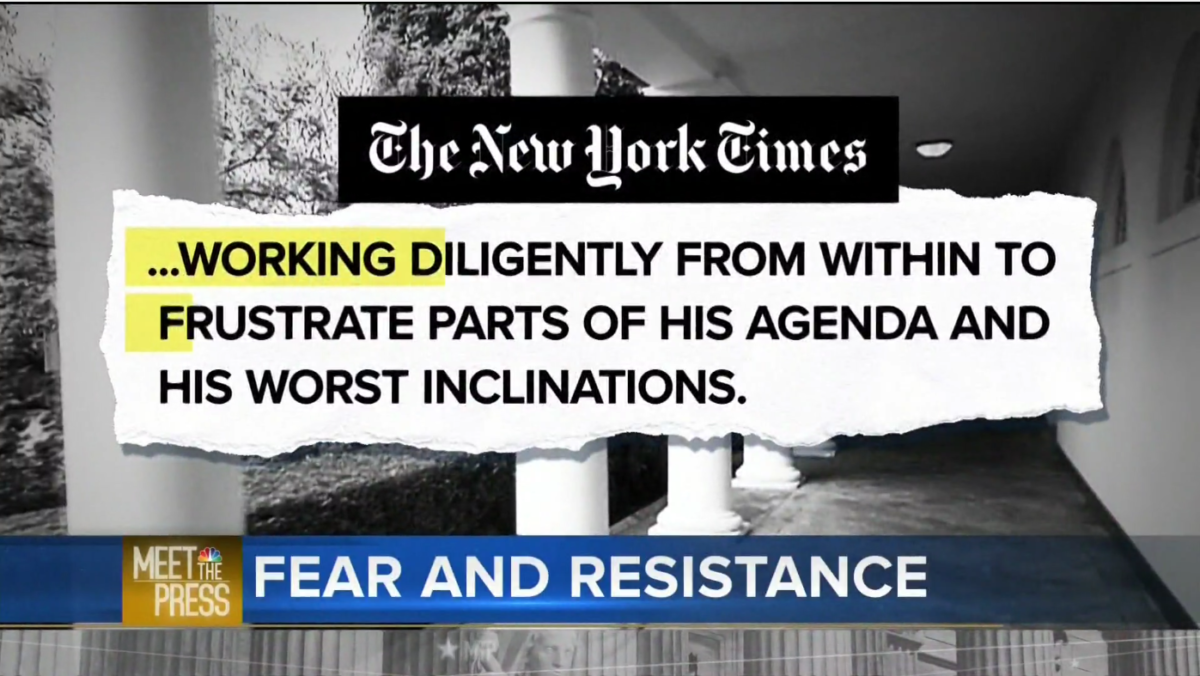Meet the Press: Fear and Resistance