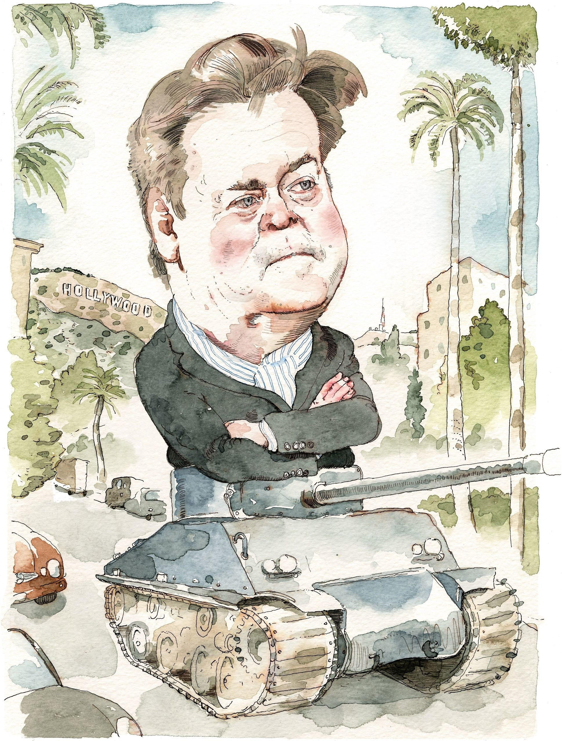 New Yorker caricature of Steve Bannon